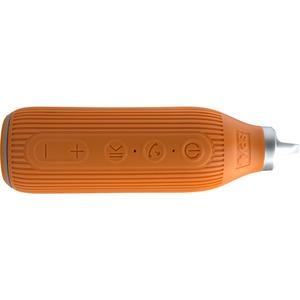 SPY Beacon Speaker System - 6 W RMS - Portable - Battery Rechargeable - Wireless Speaker(s) - Orange