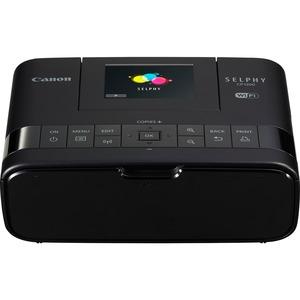 "Canon SELPHY CP1200 Dye Sublimation Printer - Color - Photo Print - Portable - 2.7"" Display - Black"
