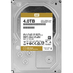 WD Gold 4TB high-capacity datacenter hard drive