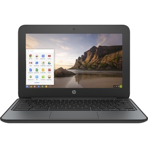 "HP Chromebook 11 G4 EE 11.6"" Chromebook - Intel Celeron N2840 Dual-core (2 Core) 2.16 GHz - 4 GB DDR3L SDRAM - 16 GB Flash Memory - Chrome OS (English) - 1366 x 768"