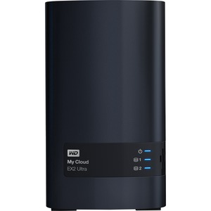 WDBVBZ0040JCH-NESN WD 4TB My Cloud EX2 Ultra Network Attached Storage - NAS - WDBVBZ0040JCH-NESN