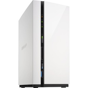 QNAP 2-bay Home & SOHO NAS for Data Backup and Entertainment