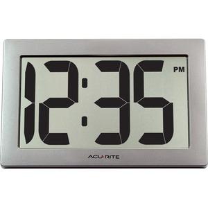 AcuRite 9.5-inch Large Digital Clock
