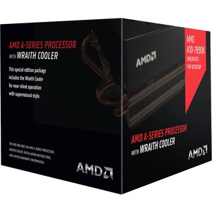 AMD A10 7890K A-Series APU with Radeon R7 Graphics & Wraith Cooler 4.1 4 AD789KXDJCHBX