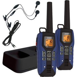 Uniden GMR5095-2CKHS Submersible Two Way Radio with Charger and Headset