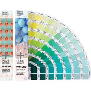 Pantone COLOR BRIDGE Coated & Uncoated Reference Printed Manual
