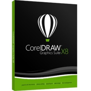 CorelDRAW GraphicsSuite X8 Upgrade