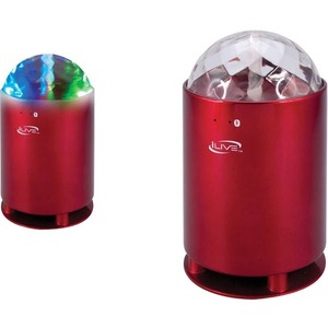 iLive Speaker System - Portable - Battery Rechargeable - Wireless Speaker(s) - Red