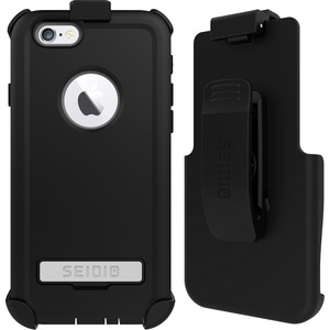 Seidio CONVERT Carrying Case (Holster) for iPhone 6, iPhone 6S - Gold, Black