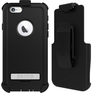 Seidio CONVERT Carrying Case (Holster) for iPhone 6, iPhone 6S - Black