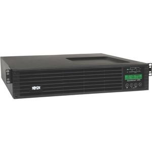 Tripp Lite UPS Smart Online 1500VA 1350W Rackmount 120V LCD USB DB9 Preinstalled SNMPWEBCARD 2URM