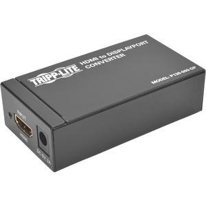 Tripp Lite HDMI / DVI to DisplayPort Video Adapter Converter Active HDMI / DVI to DP F/F