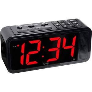 Equity 75907 Quick-Set LED Alarm Clock
