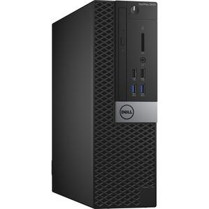 Dell OptiPlex 3000 3040 Desktop Computer - Intel Core i5 (6th Gen) i5-6500 3.20 GHz - 8 GB DDR3L SDRAM - 256 GB SSD - Windows 10 Pro 64-bit (English/French/Spanish) - Small Fo ...(more)
