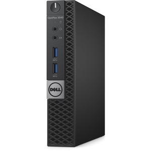 Dell OptiPlex 3040 Desktop Computer - Intel Core i5 (6th Gen) i5-6500T 2.50 GHz - 8 GB DDR3L SDRAM - 256 GB SSD - Windows 10 Pro 64-bit (English/French/Spanish) - Micro PC