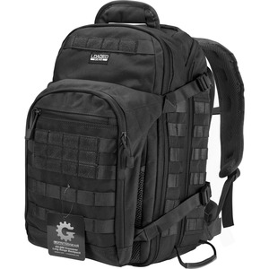Loaded Gear BI12598 Carrying Case (Backpack) for Notebook - Black