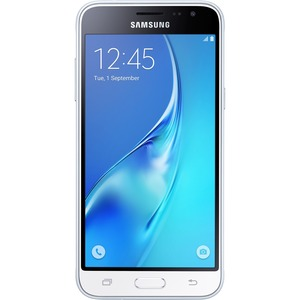Open Box: Samsung Galaxy J3 J320A Unlocked Smartphone, 16GB, 1.5GB RAM, U.S. Warranty (White)