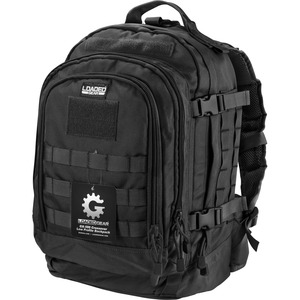 Loaded Gear BI12612 Carrying Case (Backpack) for Notebook - Black