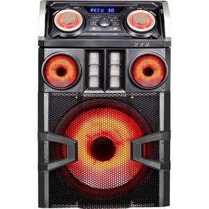 QFX Bass Thumper PA Series SBX-8815100BTL Speaker System - Wireless Speaker(s) - Black