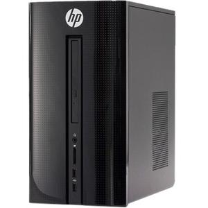 HP Pavilion 510-p000 510-p010 Desktop Computer - Intel Core i3 (6th Gen) - 8 GB DDR4 SDRAM - 1 TB HDD - Windows 10 Home