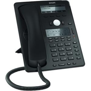 Snom Global D745 IP Phone - Cable - Desktop - Black