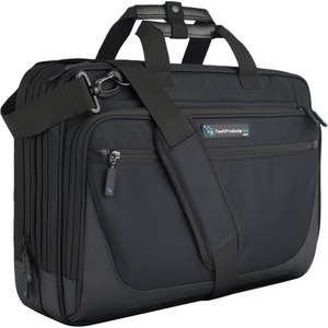"""TechProducts360 Tech Brief Carrying Case (Briefcase) for 15.6"""" Notebook"""