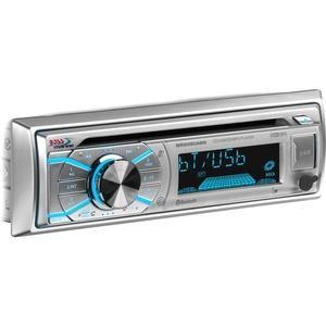 BOSS AUDIO MR508UABS Marine Single-DIN CD Player, Receiver, Bluetooth, Wireless Remote