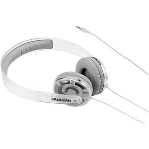 Sangean Full Size Stereo Headphones - Clear