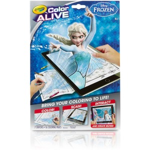 Crayola Color Alive Virtual Coloring Book, Frozen