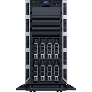 Dell PowerEdge T330 5U Tower Server - 1 x Intel Xeon E3-1220 v5 Quad-core (4 Core) 3.50 GHz - 8 GB Installed DDR4 SDRAM - 300 GB (1 x 300 GB) 12Gb/s SAS HDD - Serial ATA/600, ...(more)