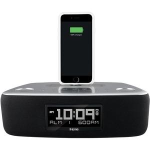 SDI Technologies iDL44 Desktop Clock Radio - Stereo - Apple Dock Interface - Proprietary Interface