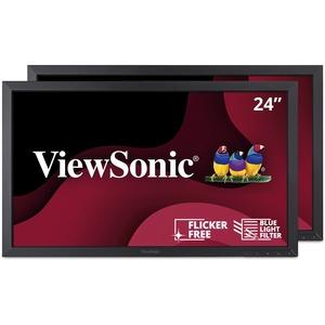 "Viewsonic VA2452Sm_H2 24"" LCD Monitor - 16:9 - 6.50 ms"