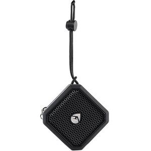 ECOXGEAR EcoPebble Lite Speaker System - Portable - Battery Rechargeable - Wireless Speaker(s) - Black