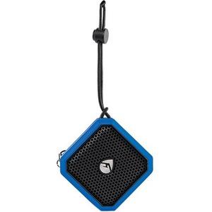 ECOXGEAR EcoPebble Lite Speaker System - Portable - Battery Rechargeable - Wireless Speaker(s) - Blue