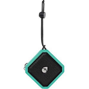 ECOXGEAR EcoPebble Lite Speaker System - Portable - Battery Rechargeable - Wireless Speaker(s) - Mint