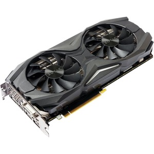 Zotac GeForce GTX 1080 Graphic Card - 1.68 GHz Core - 1.82 GHz Boost Clock - 8 GB GDDR5X - PCI Express 3.0 - Dual Slot Space Required