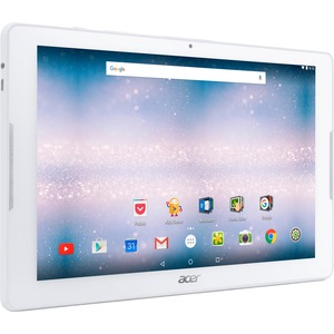 """Acer ICONIA B3-A30-K5PJ Tablet - 10.1"""" - 1 GB DDR3L SDRAM - MediaTek Cortex A53 MT8163 Quad-core (4 Core) 1.30 GHz - 16 GB - Android 6.0 Marshmallow - 1280 x 800 - In-plane Sw ...(more)"""