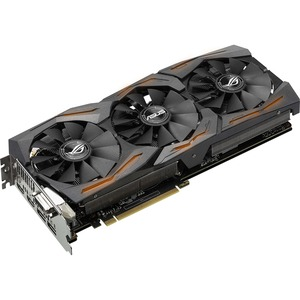 ROG STRIX-GTX1070-8G-GAMING GeForce GTX 1070 Graphic Card - 1.53 GHz Core - 1.72 GHz Boost Clock - 8 GB GDDR5 - PCI Express 3.0 - Dual Slot Space Required