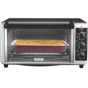 Black & Decker Extra-Wide 8-Slice Toaster Oven