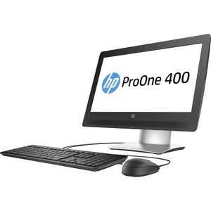 """HP Business Desktop ProOne 400 G2 All-in-One Computer - Intel Pentium G4400 3.30 GHz - 4 GB DDR4 SDRAM - 500 GB HDD - 20"""" 1600 x 900 - Windows 7 Professional 64-bit upgradable ...(more)"""