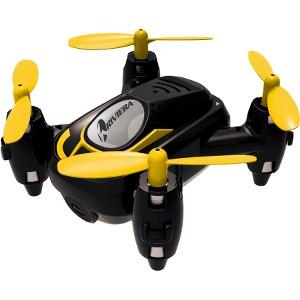 Riviera RC Micro Quad Wi-Fi Drone with 3D App - Black