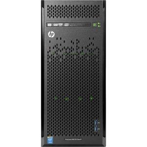 HP ProLiant ML110 G9 4.5U Tower Server - 1 x Intel Xeon E5-1620 v4 Quad-core (4 Core) 3.50 GHz - 8 GB Installed DDR4 SDRAM - 1 TB (1 x 1 TB) Serial ATA/600 HDD - Serial ATA/60 ...(more)