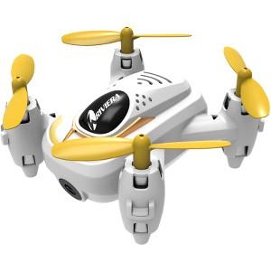 Riviera RC Micro Quad Wi-Fi Drone with 3D App - White