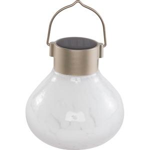 Allsop Home & Garden Solar Tea Lantern - White
