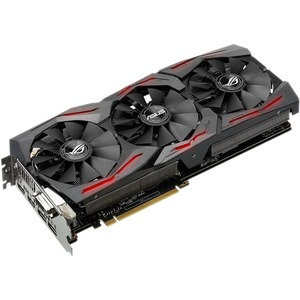 ROG STRIX-GTX1060-O6G-GAMING GeForce GTX1060 Graphic Card - 1.65 GHz Core - 1.87 GHz Boost Clock - 6 GB GDDR5 - PCI Express 3.0 - Dual Slot Space Required
