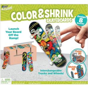 Mega Brands RoseArt SuperShrink Skateboard Park Kit Toy
