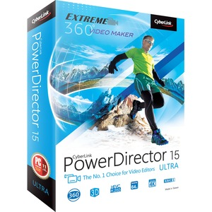 Cyberlink PowerDirector v.15.0 Ultra 64-bit