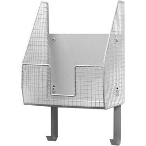 Spectrum Wall Mount Single Basket with Ironing Board Holder