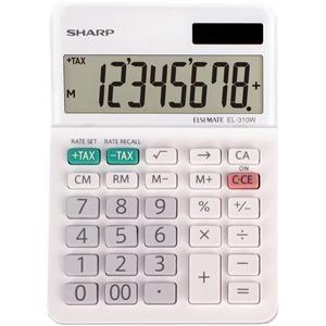 Sharp EL-310WB 8 Digit Professional Mini-Desktop Calculator