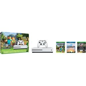 Open Box: Microsoft Xbox One S Minecraft Favorites Bundle (500GB)
